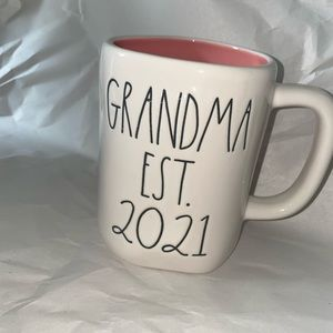 Rae Dunn Grandma Est 2021 Mug